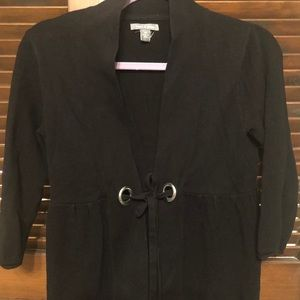Black cardigan petite size S